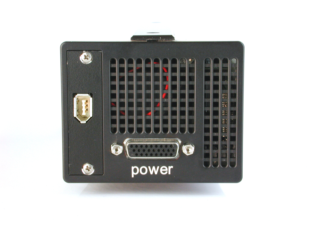 pco.2000 CCD camera system rear view image Firewire