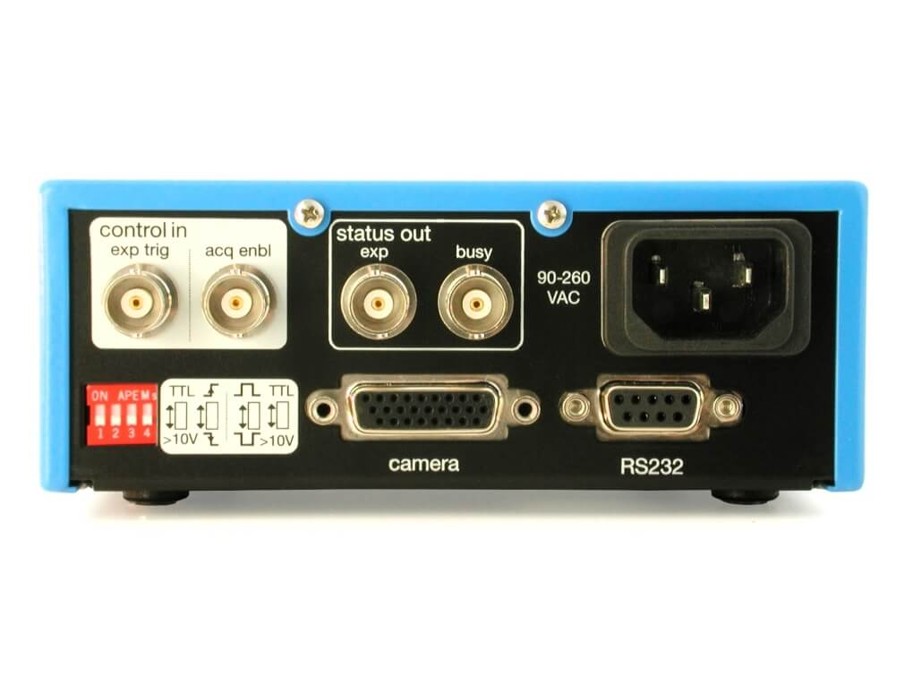 pco.power rear view image (power supply for pco.2000)