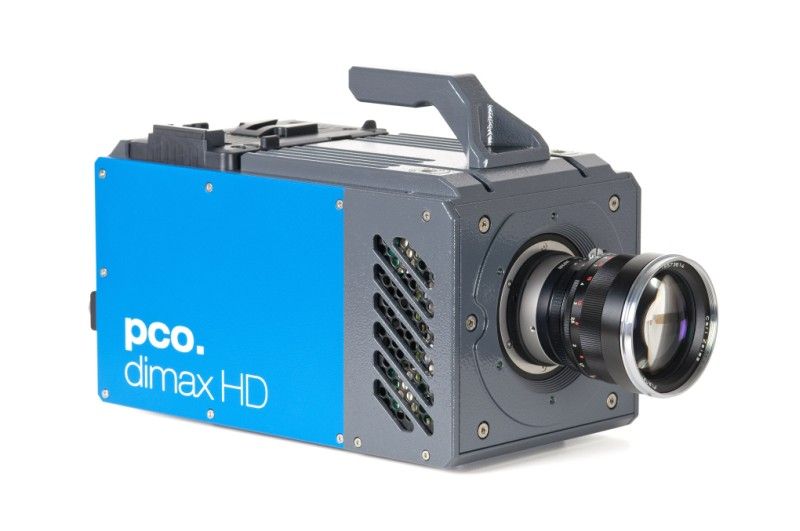pco.dimax HD/HD+ highspeed camera front right side image