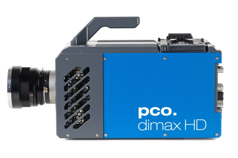 pco.dimax HD/HD+ highspeed camera side image