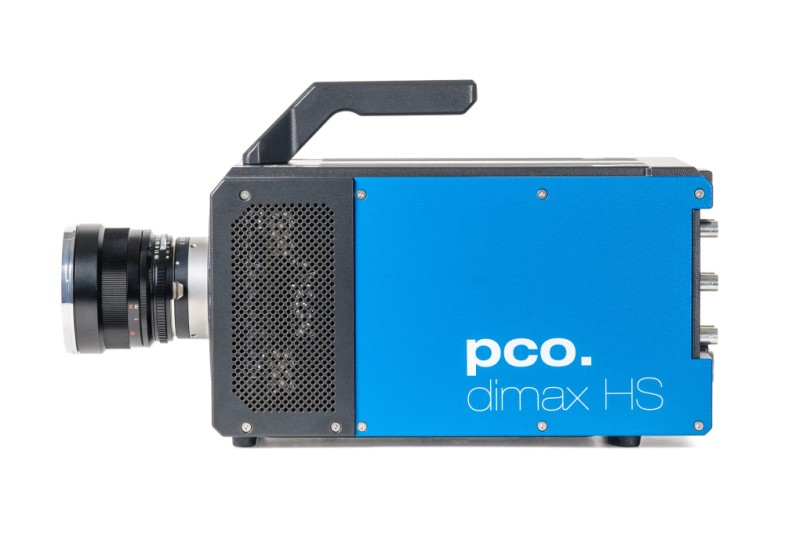 pco.dimax HS highspeed camera front side image