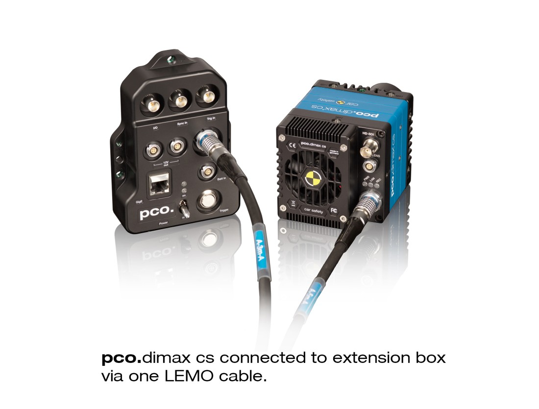 pco.dimax cs back extension box