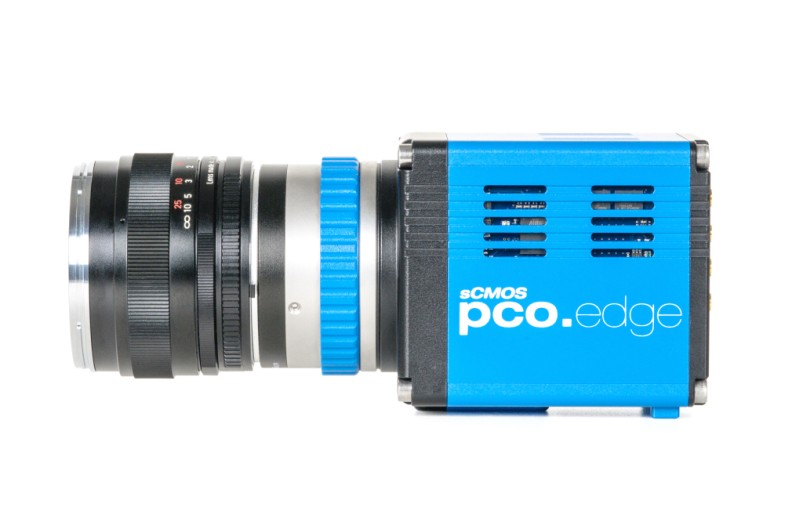 pco.edge usb 3.0 camera sCMOS side view