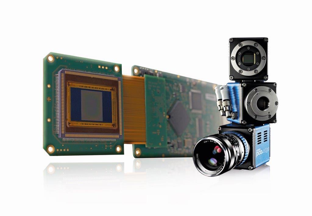 pco.edge board-level SCMOS camera with edge tower