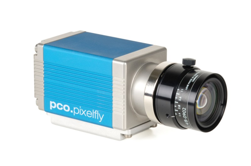 pco.pixelfly usb CCD scientific camera system front right side view